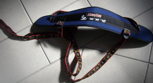 Skijoring belt